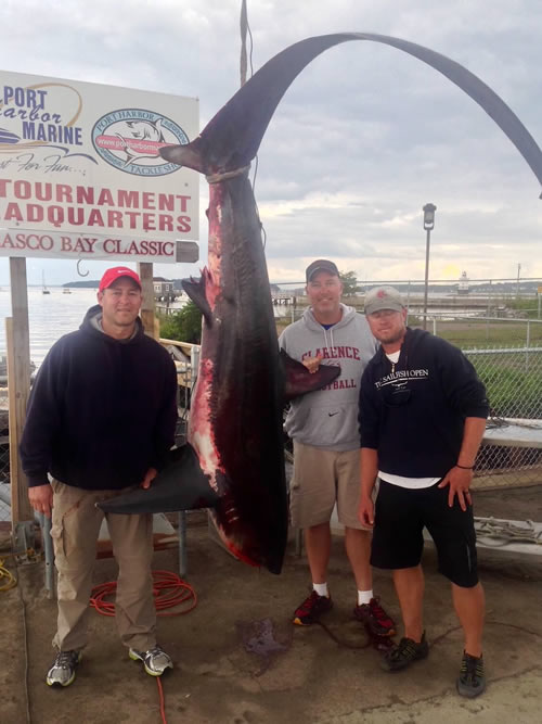 Portland Maine Shark Tournament Winners